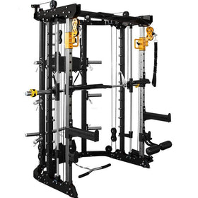 Counter Weight Smith Rack Multi-Gym Trainer Combo - DirectHomeGym