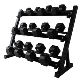 Dumbbells Rack Hexagon (3-Tier) - DirectHomeGym