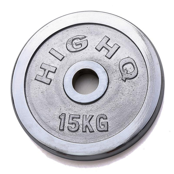 Chrome Cast Weight Plates (2.5KG - 20KG) - Olympic Size - DirectHomeGym