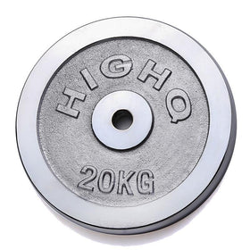 Chrome Cast Weight Plates (2.5KG - 20KG) - Standard Size - DirectHomeGym