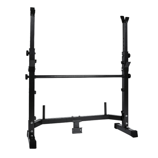 Weight Bench Rack with FID Bench Preacher Leg Curls Lats