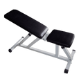 Adjustable Bench White - DirectHomeGym