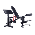 Adjustable FID Utility Bench with Optional Add-on - DirectHomeGym