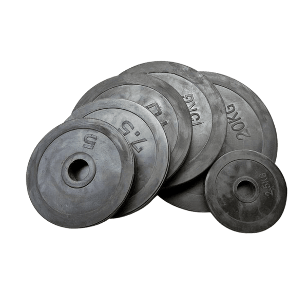 Rubber Weight Plates (2.5KG - 20KG) - Olympic Size - DirectHomeGym