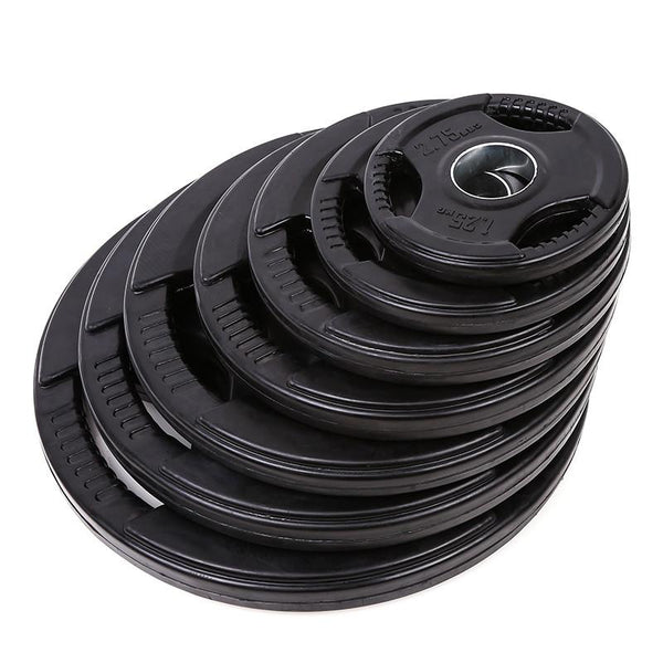 Tri Grip Rubber Coated Weight Plates 1 25kg To 20kg