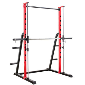 Smith Rack with Plate Storage - DirectHomeGym