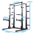 Infinity Series - Half Rack 2 with Plates Storage