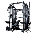 Massfit G7 Pro Functional Trainer, Power Rack, Smith - DirectHomeGym
