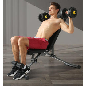 Folding Adjustable Bench - DirectHomeGym