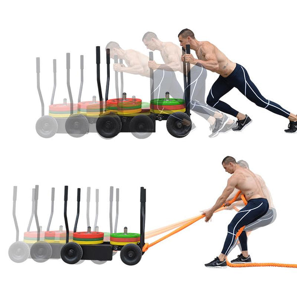 Tank Sled Variable Resistance - DirectHomeGym