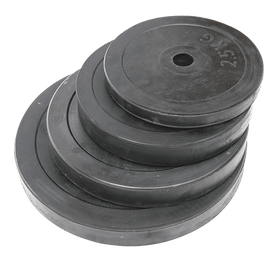 Rubber Weight Plates (2.5KG - 20KG) - Standard Size - DirectHomeGym