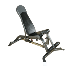 FID Adjustable Bench with Leg Attachment - DirectHomeGym