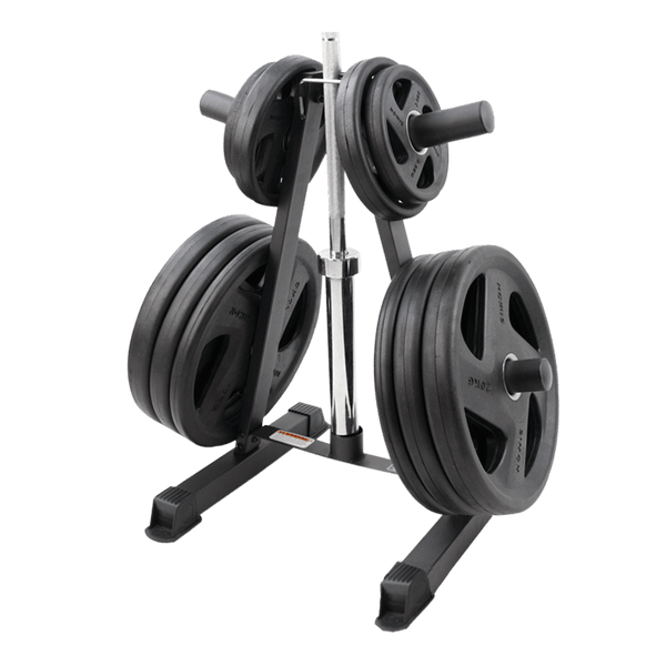 Weight Tree for Olympic Plates & Bar Storage - DirectHomeGym
