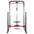 Power Squat Rack with Lats Pull-down and Row Machine - DirectHomeGym