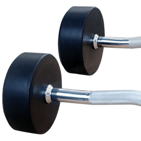 Fixed Weight Curl Barbell - DirectHomeGym