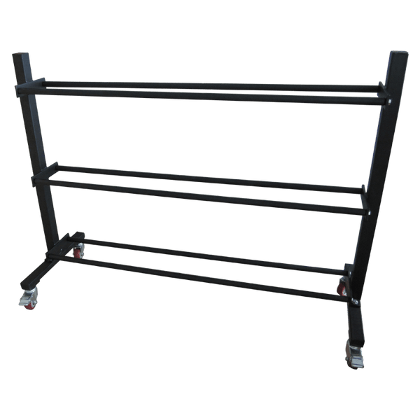 3 Tier Ball Storage Trolley Shelf - DirectHomeGym