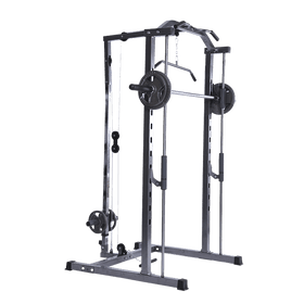 Smith Rack with Lats Pull-down and Row Machine - DirectHomeGym
