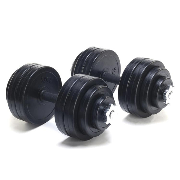 Adjustable Dumbbells 30KG Set (2 x 15KG) - DirectHomeGym