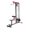 Lats Pull down and Row Machine with Seat - DirectHomeGym