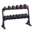 Dumbbells Shelf Rack Hex / Round (2-Tier) - DirectHomeGym