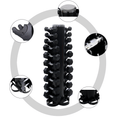 Premium Vertical Dumbbells Tower Storage Rack 10 sets - DirectHomeGym