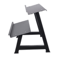 Dumbbells 2-Tier Storage Shelf Rack - DirectHomeGym