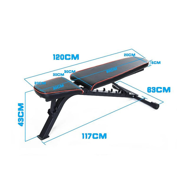 Adjustable FID Bench - DirectHomeGym