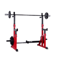 Squat Bench Dip Adjustable Spotter Rack - DirectHomeGym