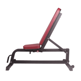 Red Adjustable Bench - DirectHomeGym