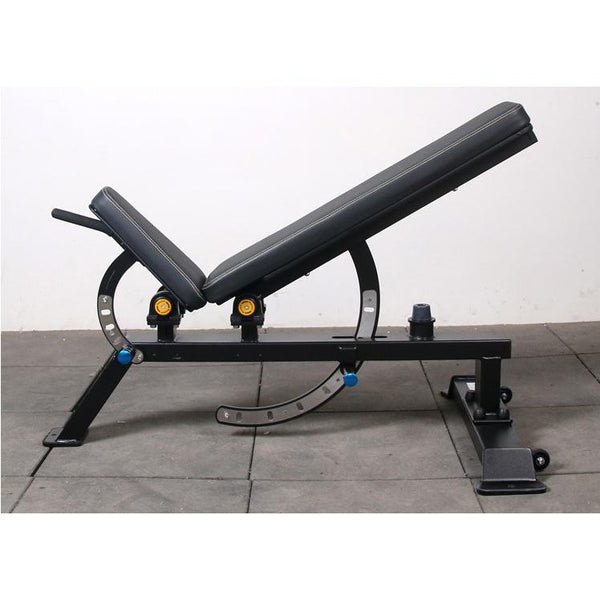 Heavy Duty Black Adjustable Bench - DirectHomeGym