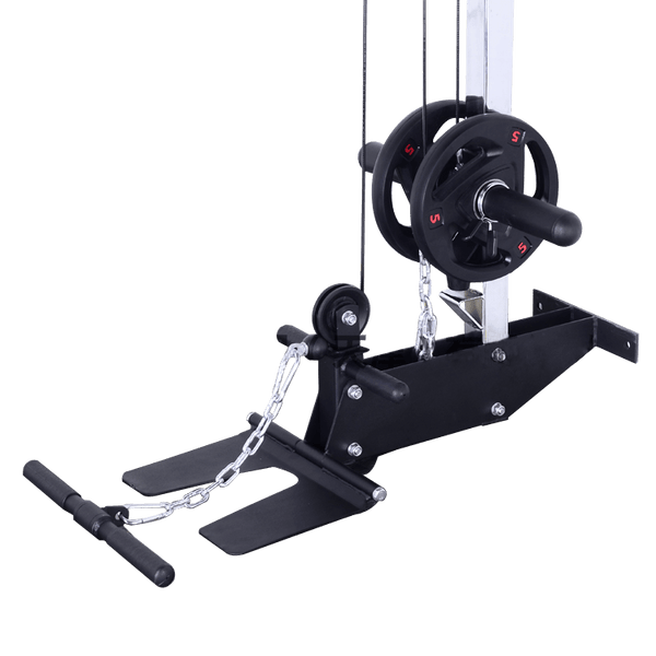 Wall Mount Lats Pull down and Roll Machine - DirectHomeGym
