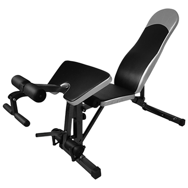 Adjustable FID Bench with Preacher and Leg Curl Attachments - DirectHomeGym