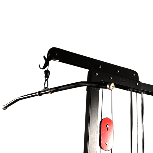 Lat Pull Down and Low Row Machine - DirectHomeGym