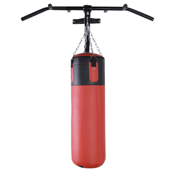 Pull and Chin Up Bar with Punching Bag Bracket - DirectHomeGym