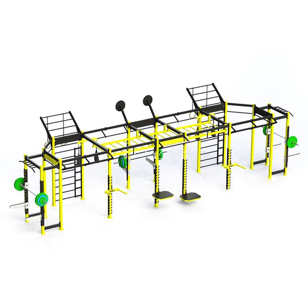 Custom Fabricated Crossfit Rig - DirectHomeGym