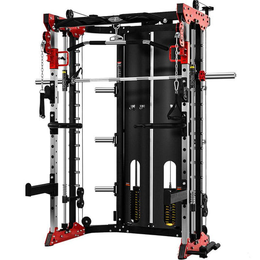 Smith Rack Multi-Gym with Stack Weights - DirectHomeGym