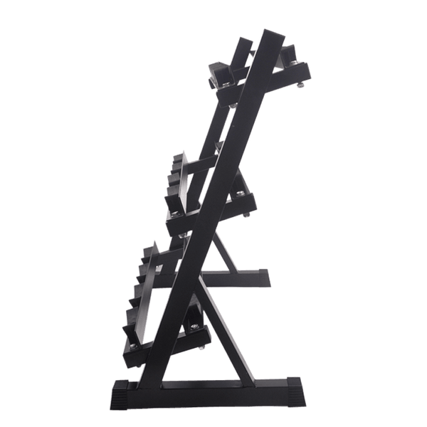 Dumbbells Rack Round Head (3-Tier) - DirectHomeGym