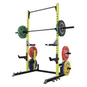 Half Rack with Plates Holders and Dip Bar - DirectHomeGym