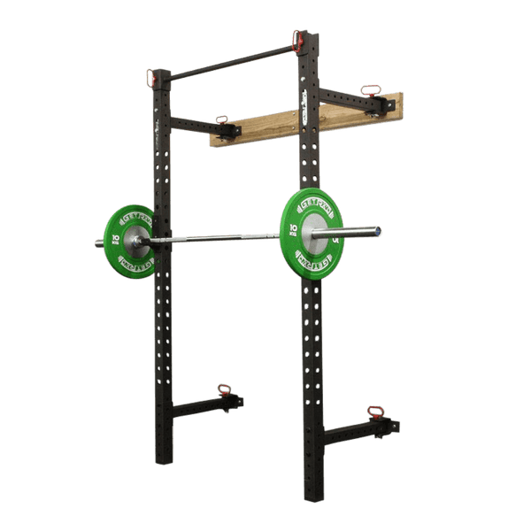 Fold Back Wall Mount Rack - DirectHomeGym