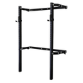 Wall Mount Fold Back Rack - DirectHomeGym