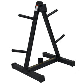 Weight Tree for Standard Plates & Bar Storage - DirectHomeGym