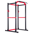 Full Power Rack with Lats Cable Machine and Options - DirectHomeGym