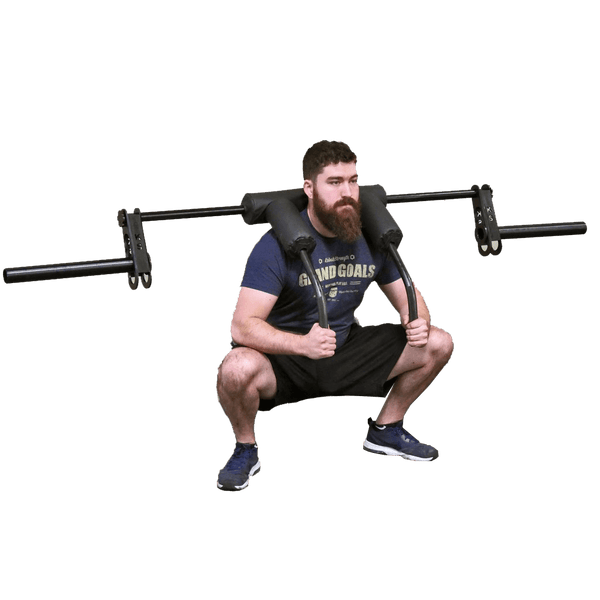 Safety Squat Cambered Transformer Bar - DirectHomeGym