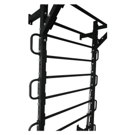 Heavy Metal Wall Mount Stall Bar with Accessories - DirectHomeGym