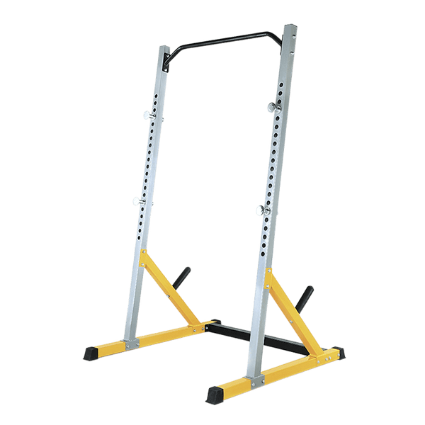 Half Rack with Plates Storage - DirectHomeGym
