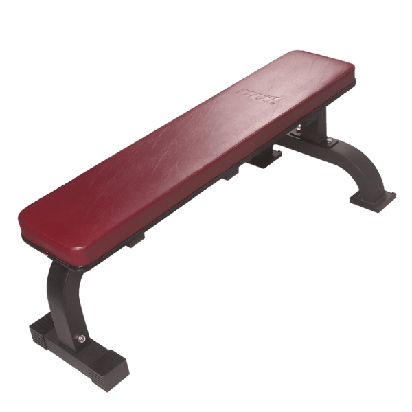 Red Flat Bench - DirectHomeGym
