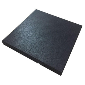 Square Tile High Density Rubber Shock Absorbing Gym Mat - DirectHomeGym