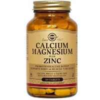 Calcium Magnesium Plus Zinc Tablets (100 tablets)