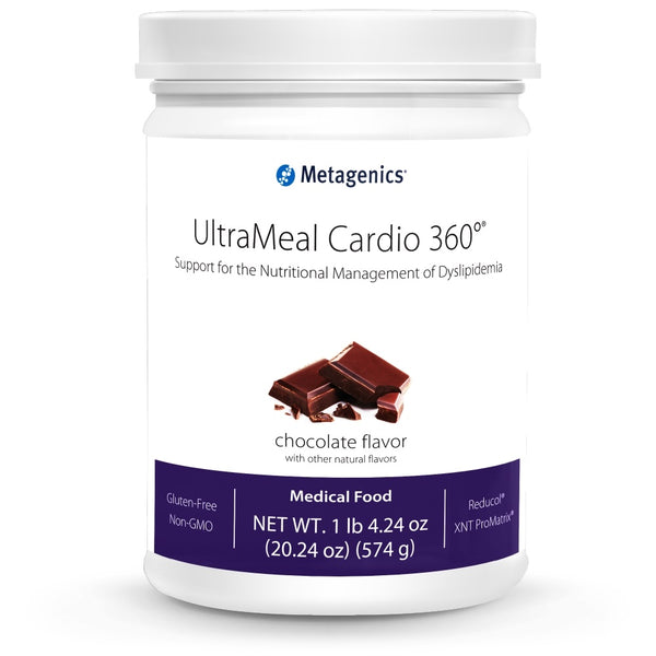 UltraMeal Cardio 360 Pea/Rice Protein Medical Food (574g Chocolate)