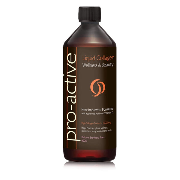 Pro-Active Liquid Collagen Porcine (Strawberry Flavour)
